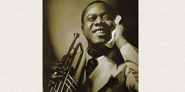 Louis Armstrong, (1901-1971)