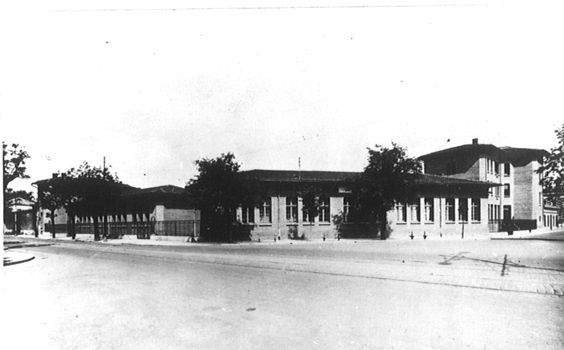 Groupe scolaire du Busca  - octobre 1927 –  Ville de Toulouse,  Archives municipales, 2Fi1811