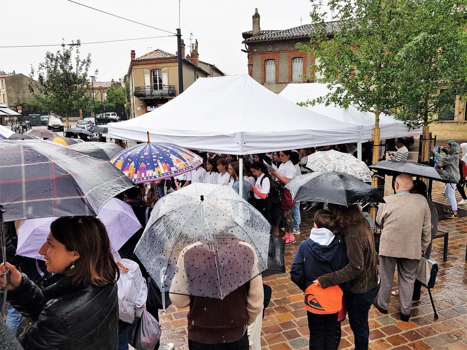 Beau succès pour la fête de la place du Busca les 14 et 15 juin