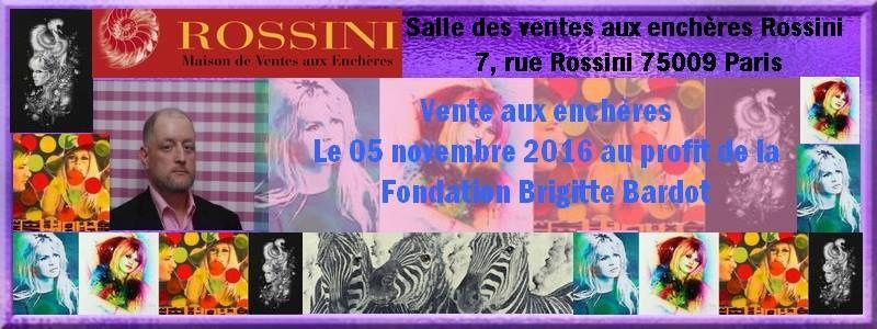 Brigitte Bardot : Ouverture au grand public de l'exposition Vente aux enchères...