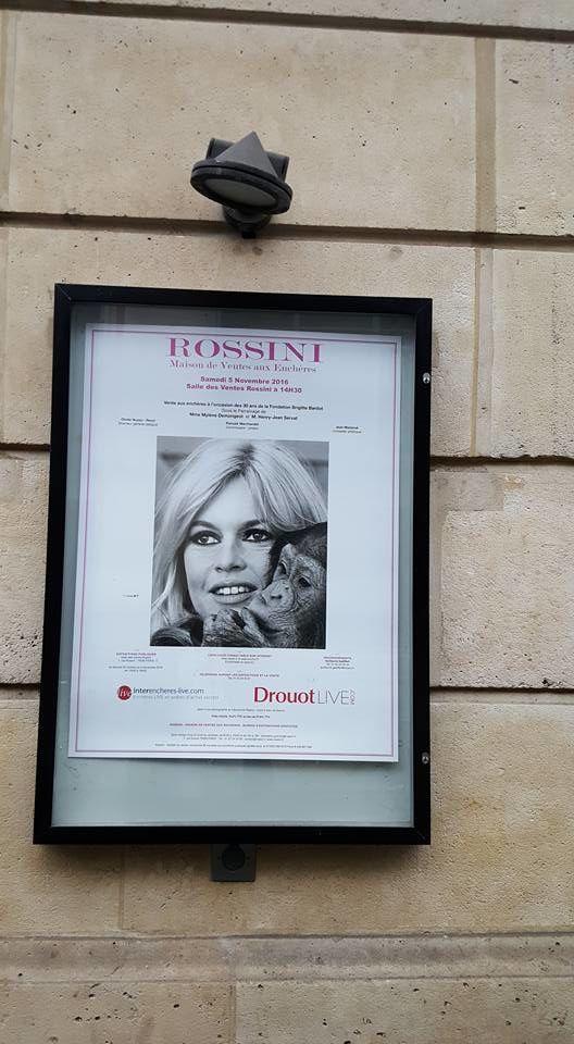 Brigitte Bardot : Vente aux enchères...