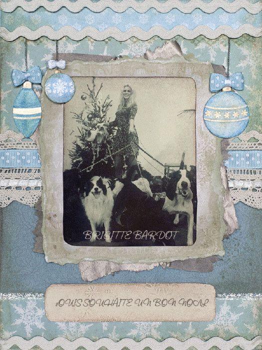 Brigitte Bardot vous souhaite un merveilleux Noël...