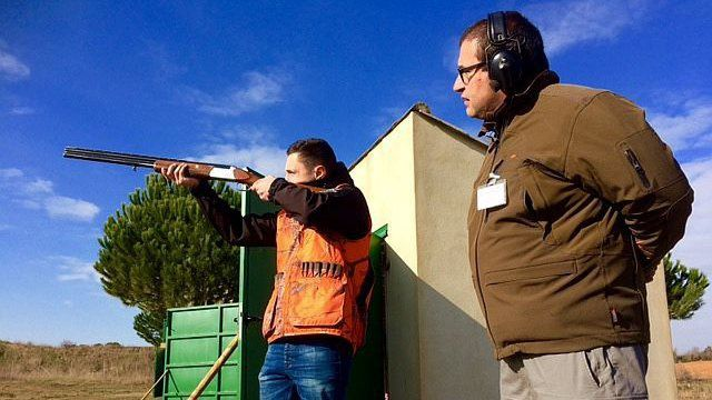 Limoux (Aude) - un bac option chasse pour les lycéens - 2017!