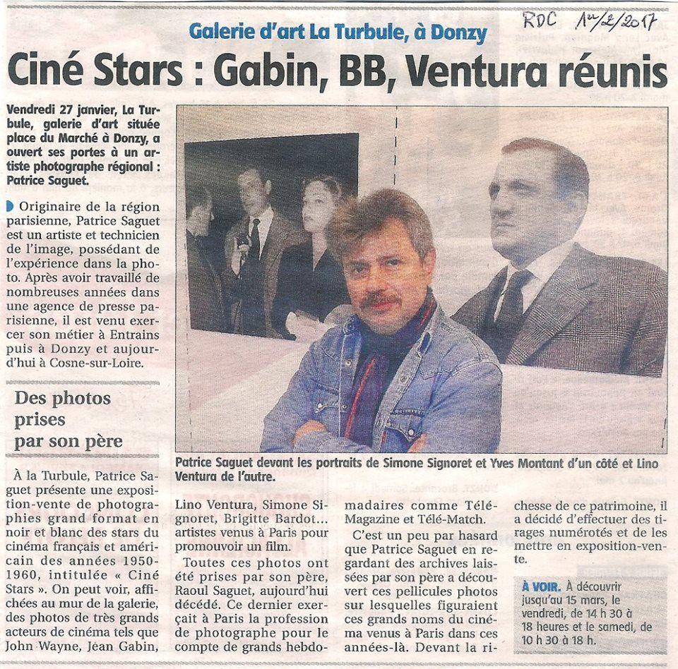 Ventura, Gabin, Bardot... au coeur d'une exposition de clichés inédits §