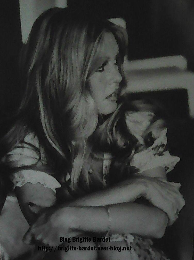 Brigitte Bardot en photos rares visuels...