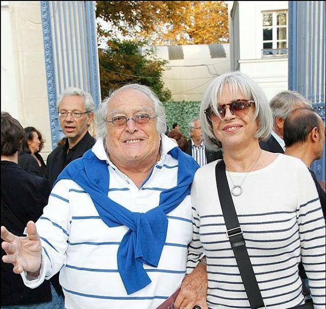 Georges Lautner et Martine Cartegini au musée Paul Belmondo pour le 5 ans du musée...