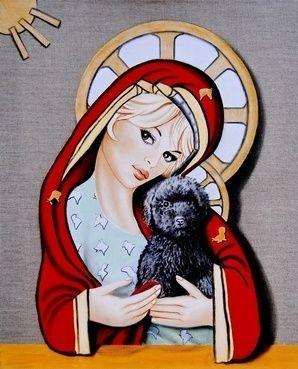 """Brigitte Bardot par le peintre """"Serge de Saint-Tropez""""..."""