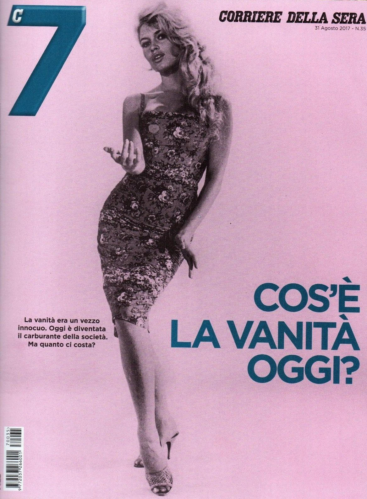 "Bardot en couverture de ""Corriere della Sera"" n°35 du 31 08 2017 (Italie)"