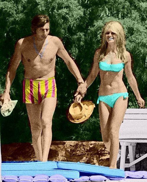 Brigitte Bardot et Gunther Sachs