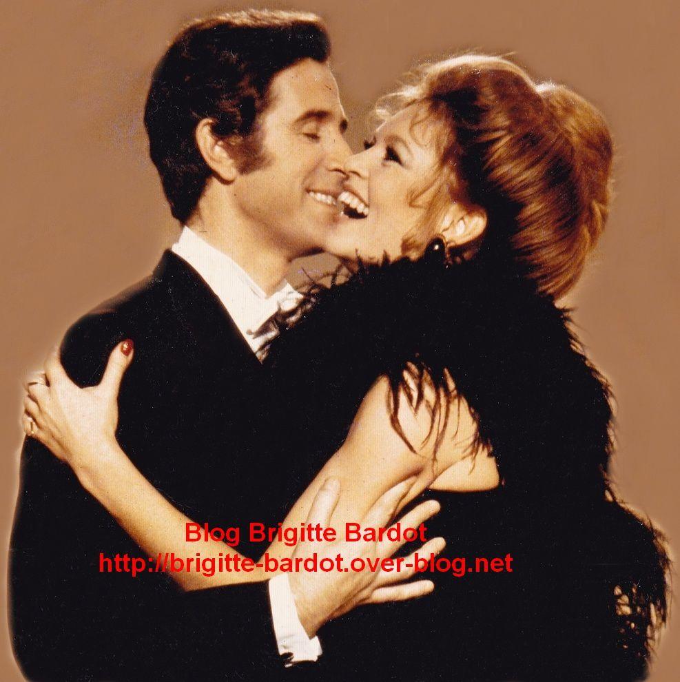 Brigitte Bardot et Jacques Chazot...