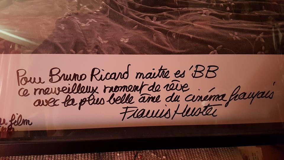 Brigitte Bardot et Francis Huster..