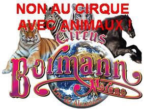 M6 Info : Cirque Bormann Moreno...Manifestation...