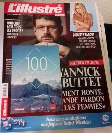 L'illustré n°49 de décembre 2017 (Suisse)