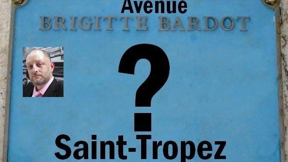 """Pour une avenue """"Brigitte Bardot"""" à Saint-Tropez !"""