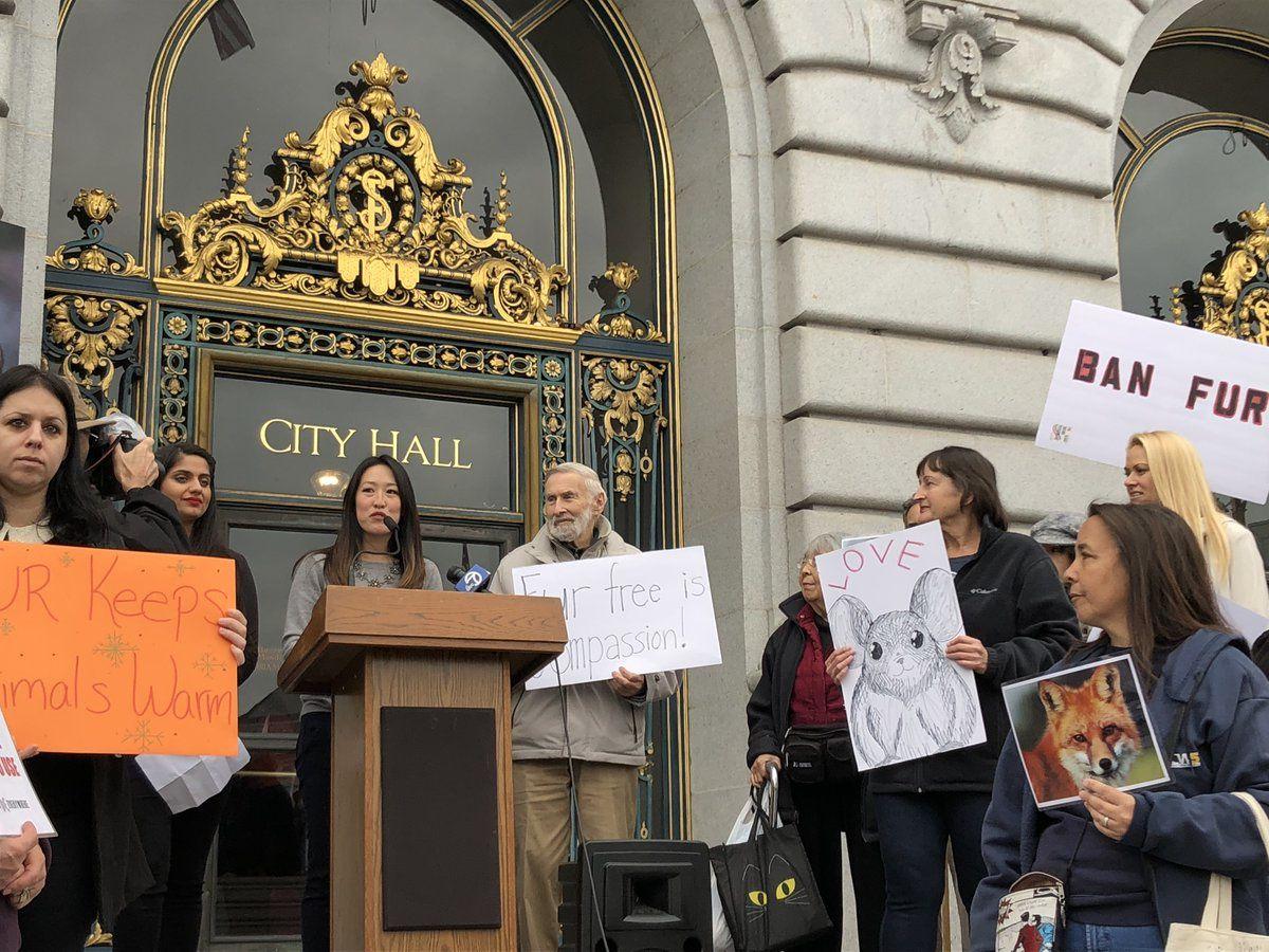 """La ville de San Francisco interdit la vente de fourrures pour """"envoyer un message fort au reste du monde"""""""