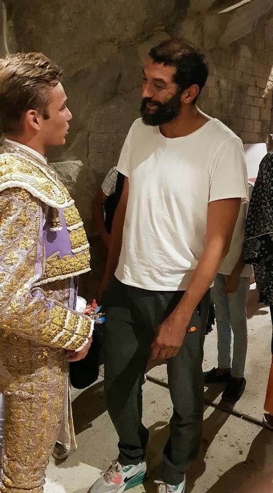 Ramzy présent dans les arènes de Nîmes !