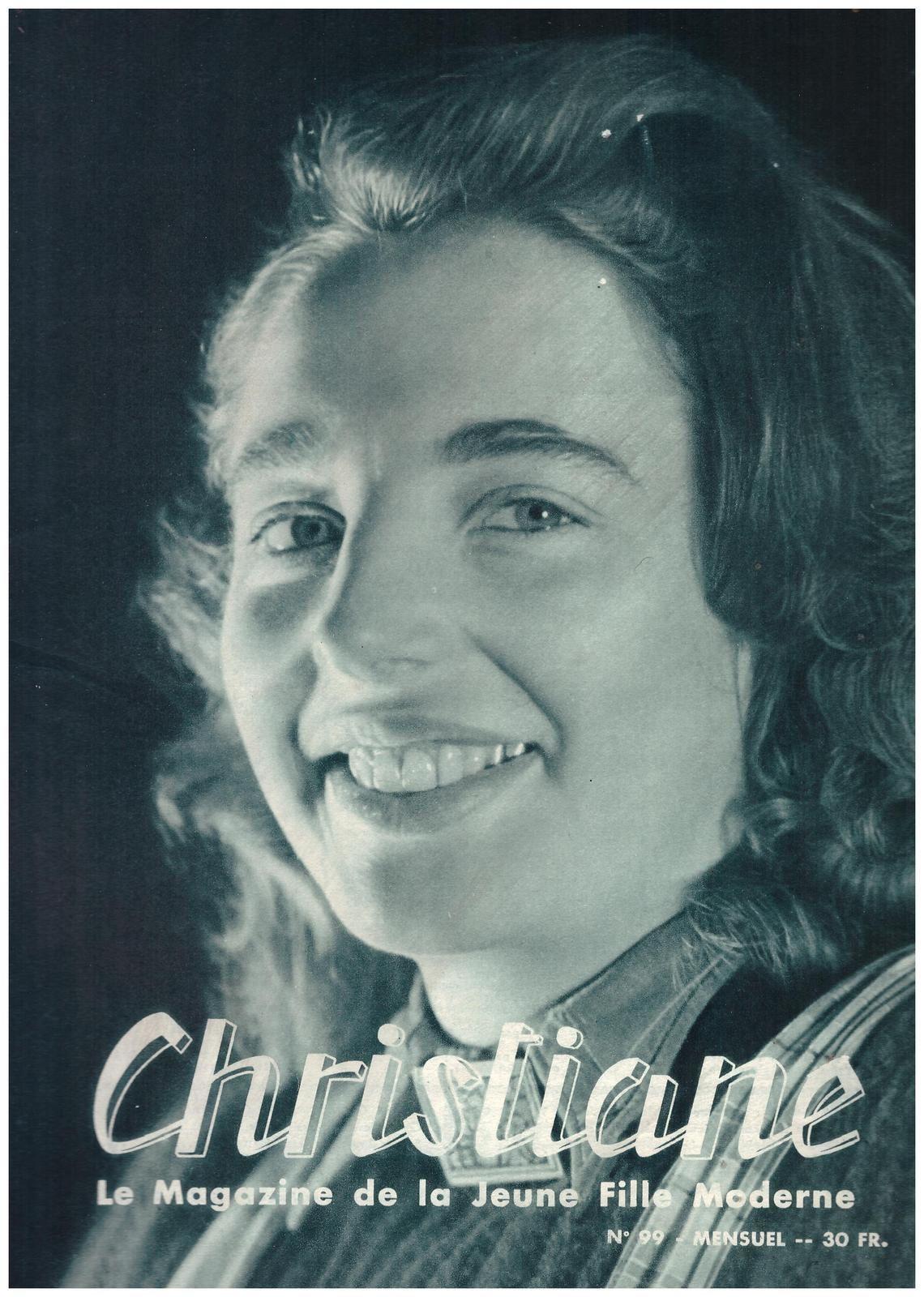 Christiane n°99 de novembre 1955