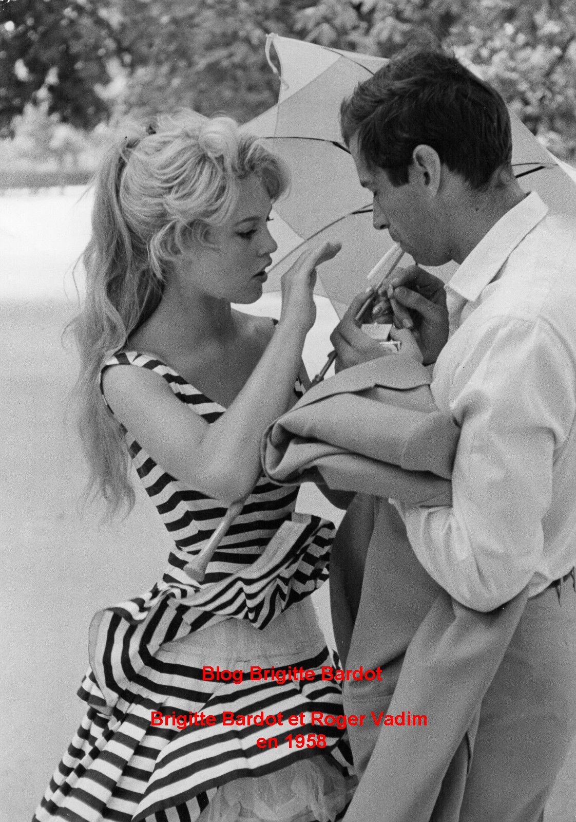 Rares Visuels de Brigitte Bardot