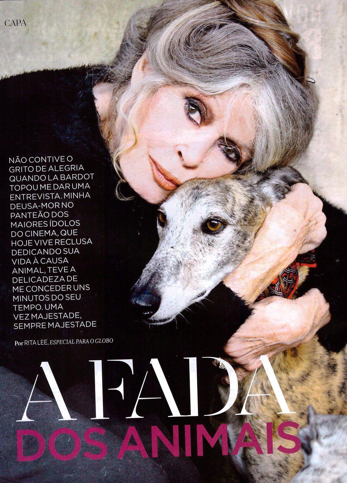 Brigitte Bardot en couverture de O Globo (Brésil)