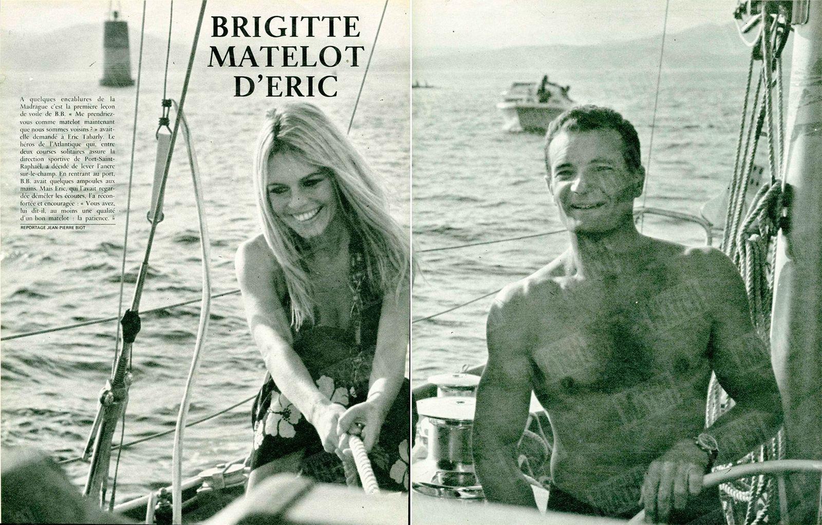 Quand Bardot et Delon jouaient les matelots pour Tabarly