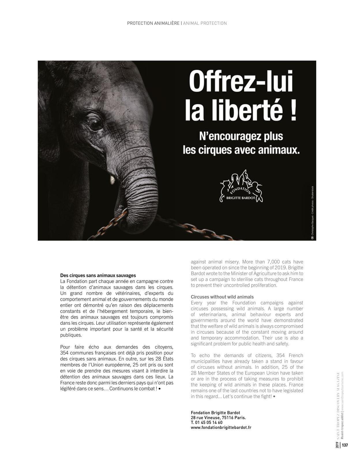 Discovery magazine Brigitte Bardot en couverture et articles