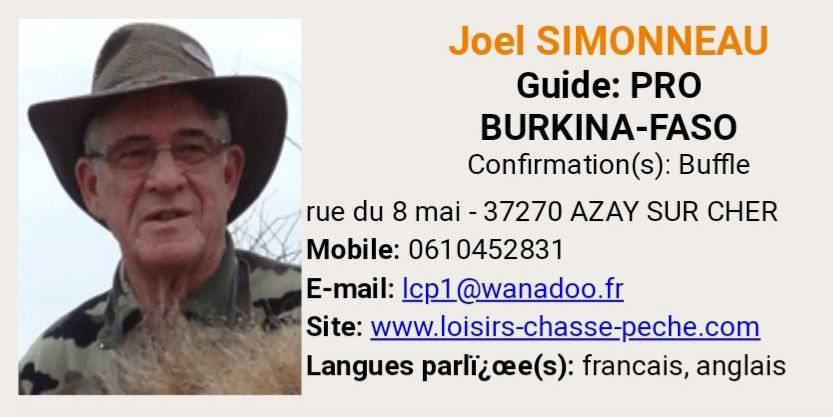 Vous voulez allez faire un safari pour massacrer un éléphant un buffle, un léopard ?