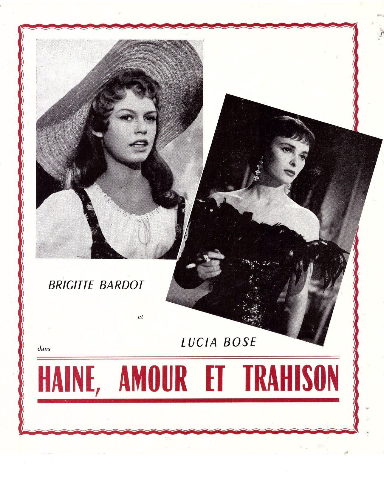 Synpsis film Haine amour et trahison