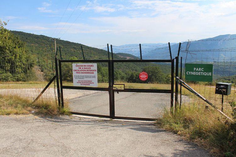 Une des voies d'accès vers un autre parc de ce type. Photo Aspas
