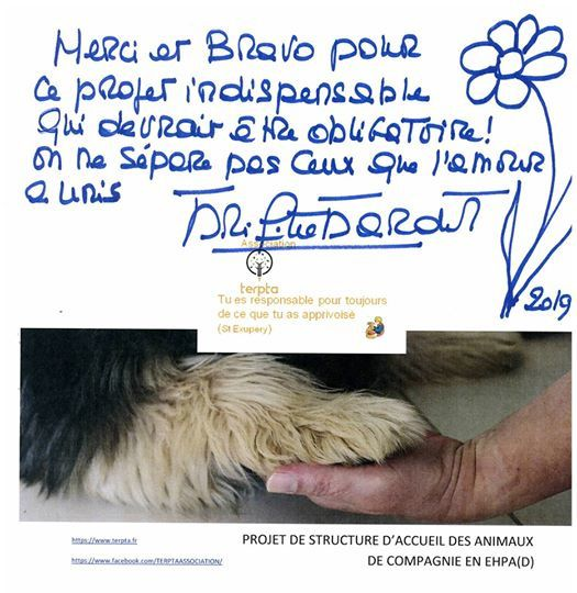 Brigitte Bardot, cette icône de la cause animale, nous a fait le grand honneur d'être notre marraine et nous l'écrit. Pas assez de mots pour lui dire combien nous lui sommes reconnaissants.     53     6   116