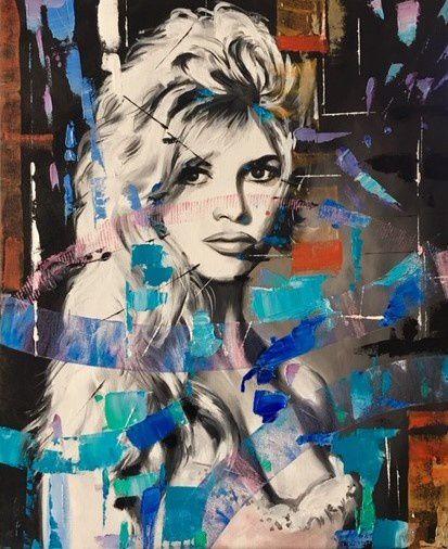 Exposition de tableaux de l'artiste Martine Perugini
