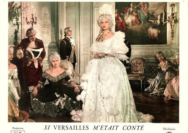 Filmographie Brigitte bardot : Si Versailles m'était conté...de 1953