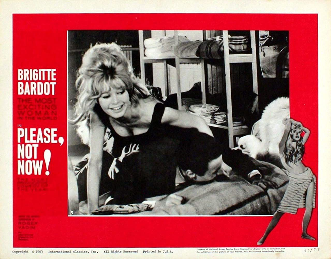 Filmographie Brigitte Bardot : La Bride sur le cou
