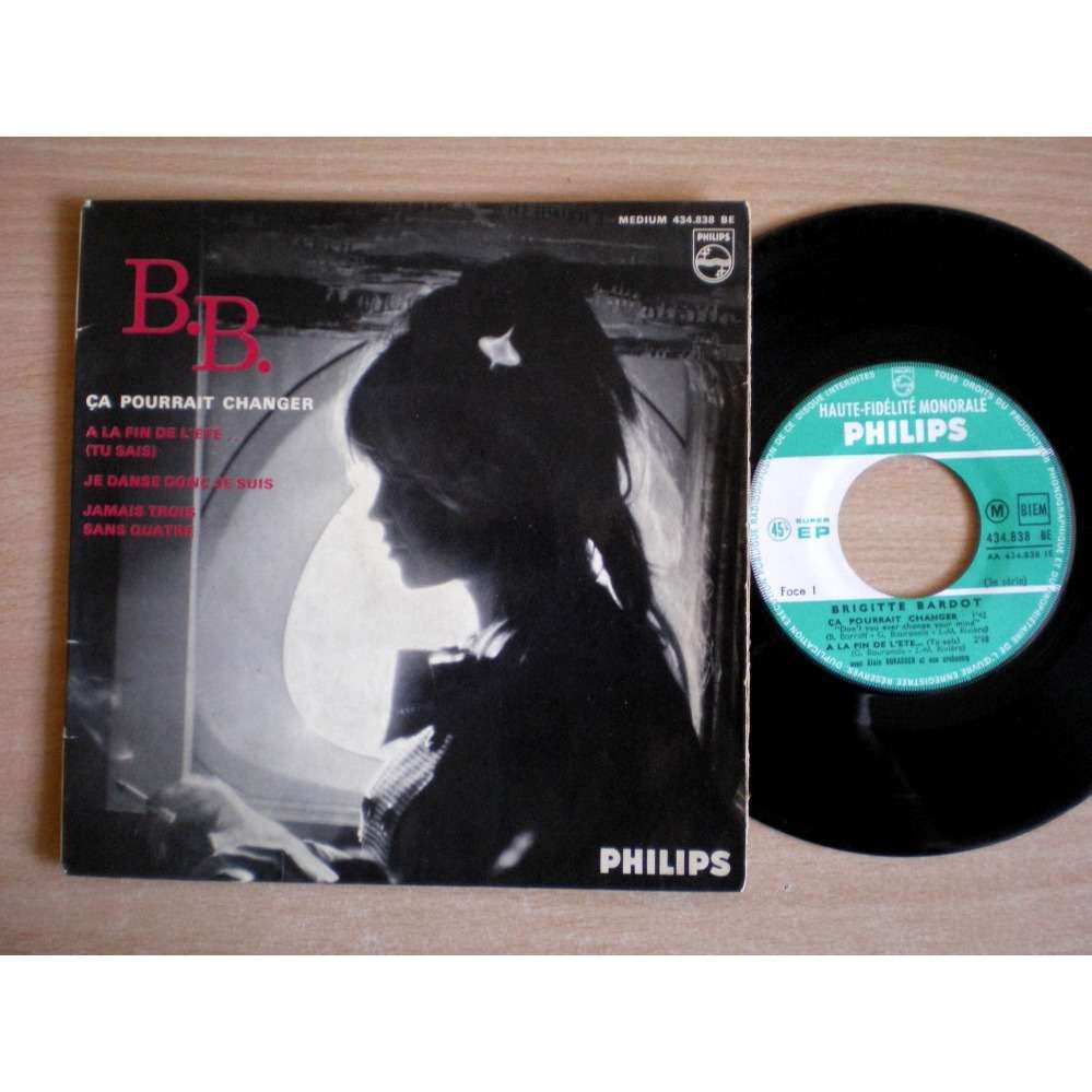 """Discographie Brigitte Bardot : """"Ça pourrait changer""""..."""