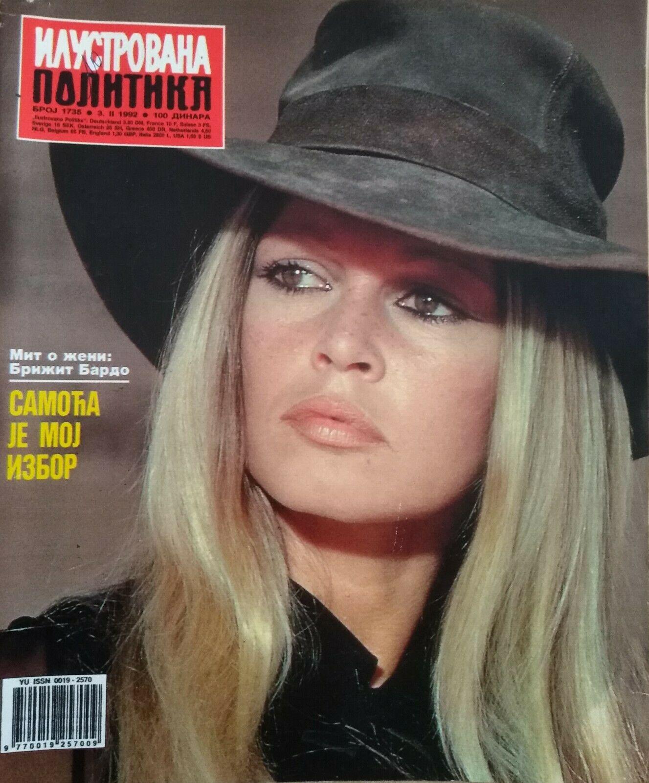 Revue n°1735 de 1992 (Serbie)