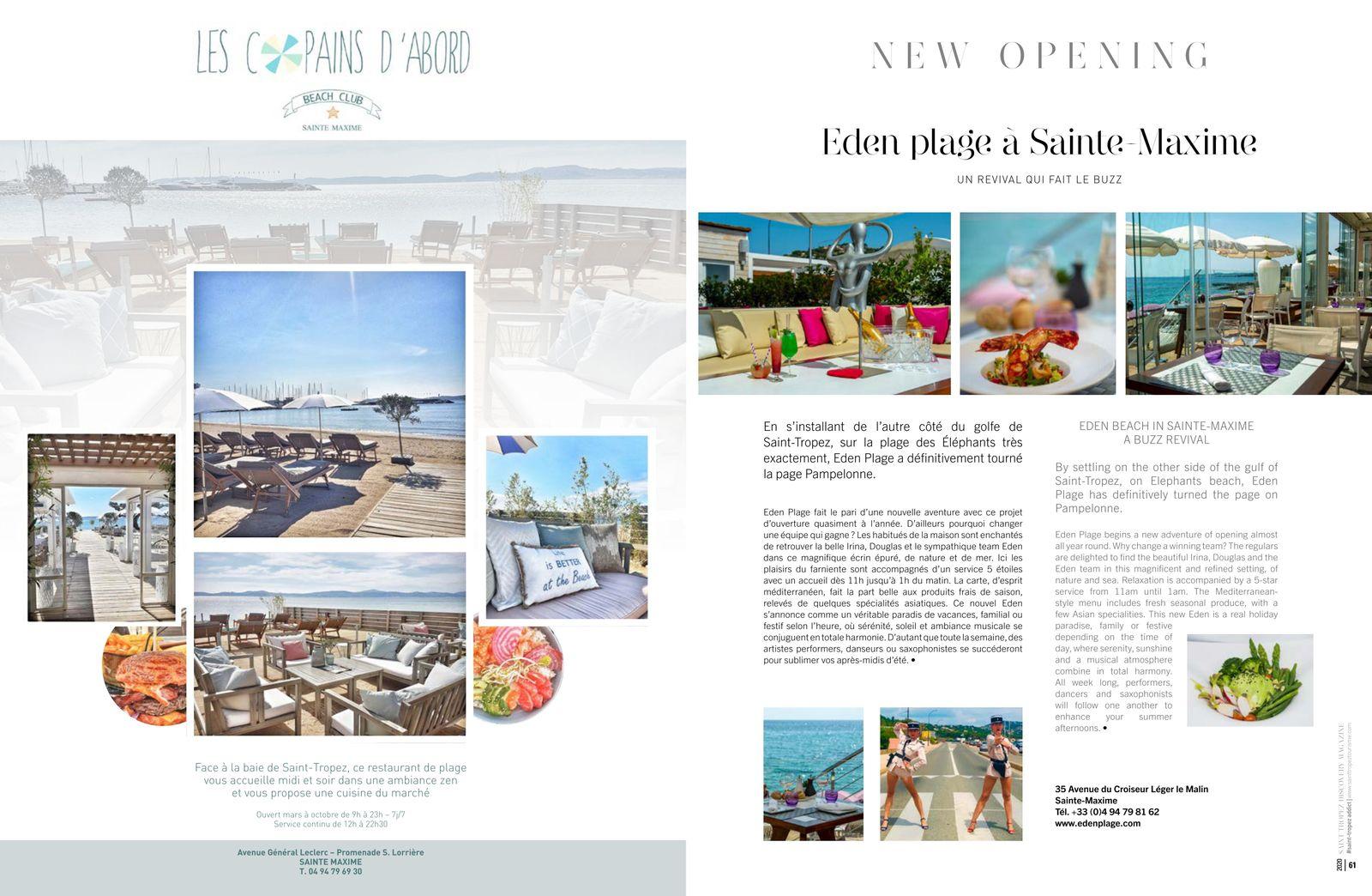 Discovery Saint-Tropez 2020...