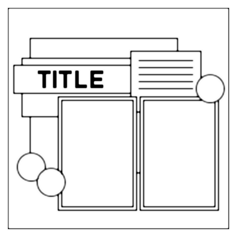 Page,Scrapbooking,Sketche,digital,layout,bases,techniques,dérivés,kits,freebies,fathia,nasr,scraps,