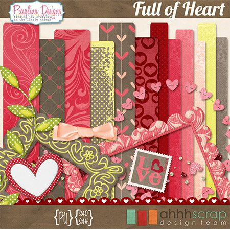 Set,scrap,kit,free,Page,Scrapbooking,Sketche,digital,layout,bases,techniques,dérivés,kits,freebies,fathia,nasr,scraps,valentine,day,saint,valentin,full,heart,cœur,