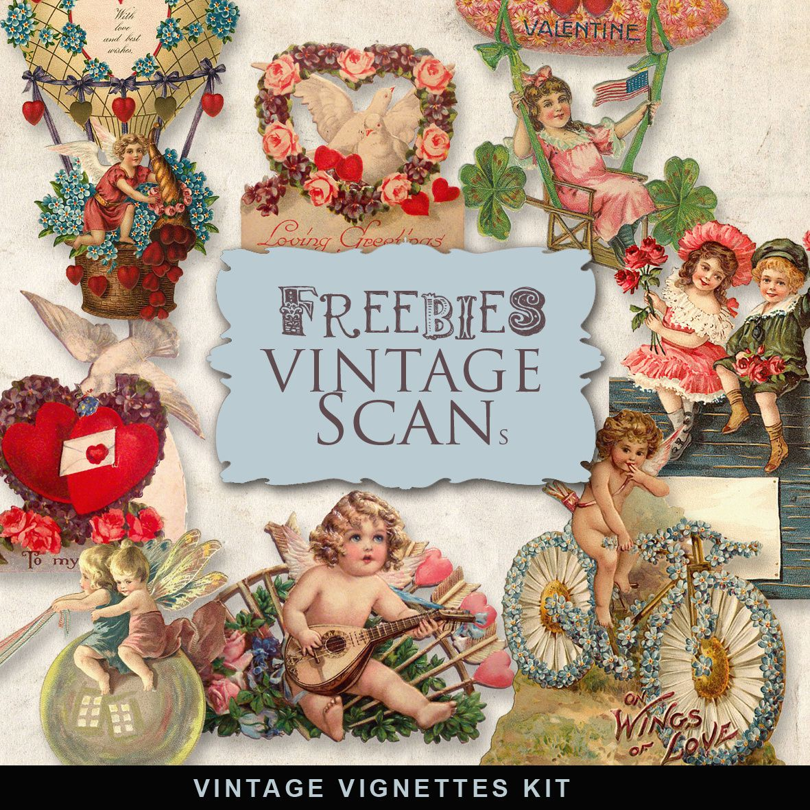 Vignettes,scan,be,mine,vintage,set,scrap,kit,free,Page,Scrapbooking,Sketche,digital,layout,bases,techniques,dérivés,kits,freebies,fathia,nasr,scraps,valentine,day,saint,valentin,full,heart,cœur,lovey,amoureux,funky,