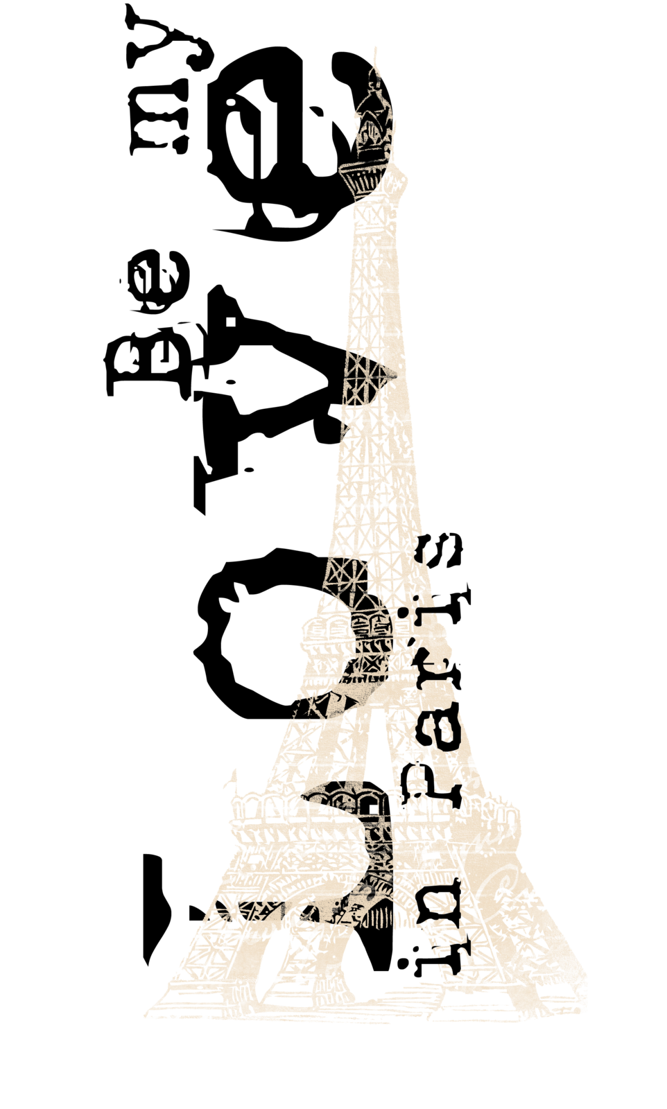 Kit de scrapbooking : Soit mon Amour à Paris (Be my love in Paris)