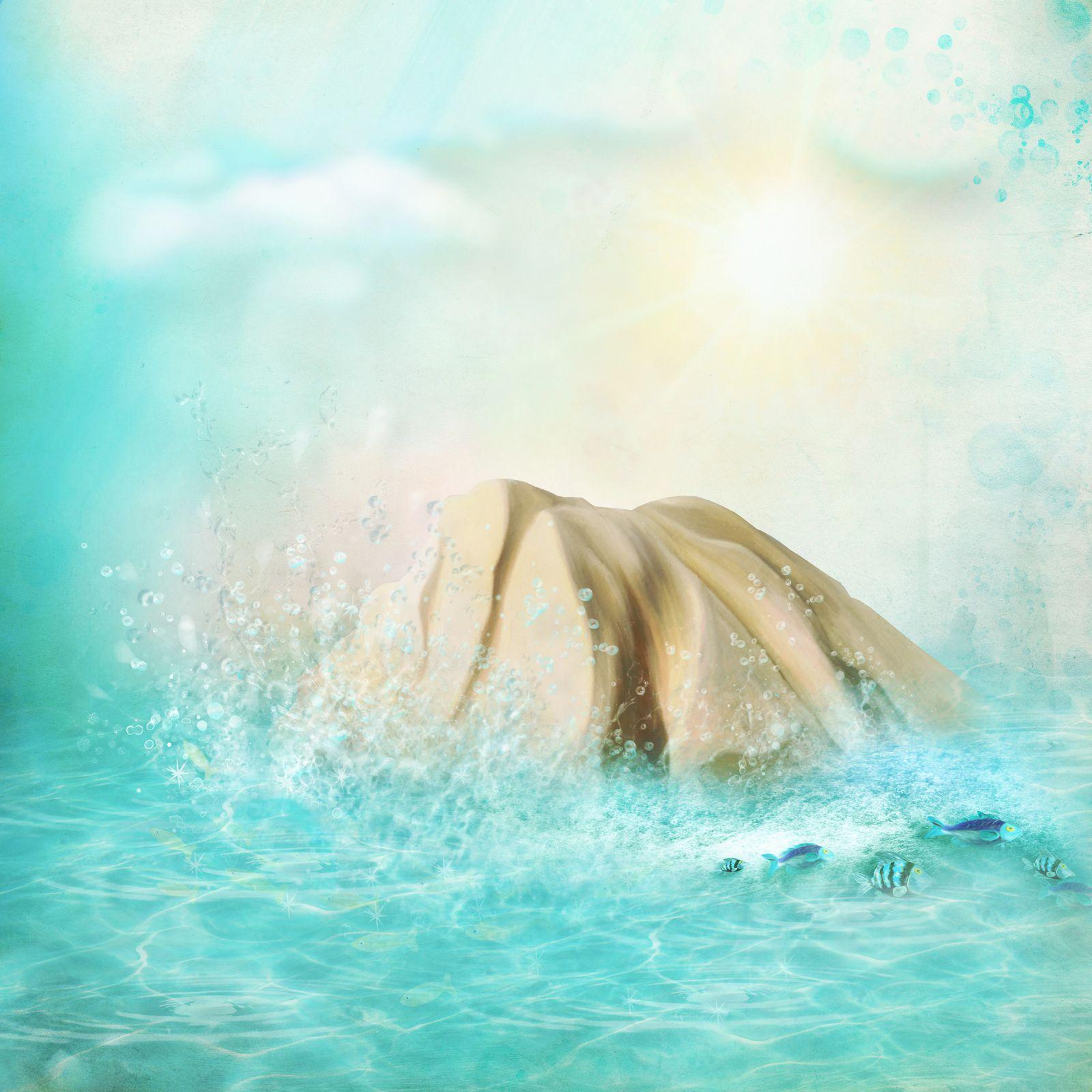 "Kit de scrapbooking ""Sea Whistle - Sifflet de mer"" (papers)"