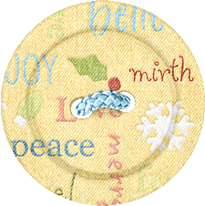 """Kit scrapbooking """"Nitwitville"""" (Buttons)"""