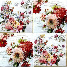 Collection Digital Scrapbook Paper Pack Floral - inspiration