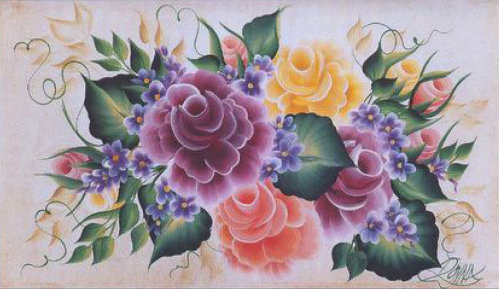 One-Stroke-Painting-peinture-facile-Donna-DEWBERRY-