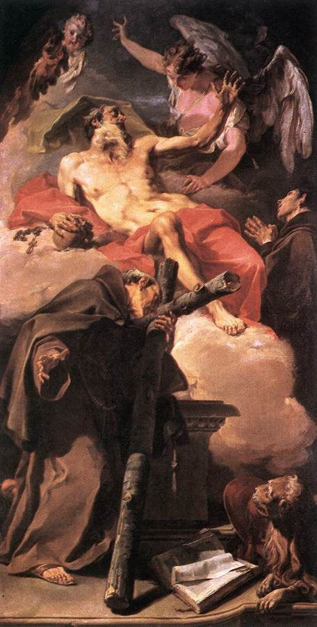 Œuvres d'art du peintre italien Giovanni Battista Pittoni