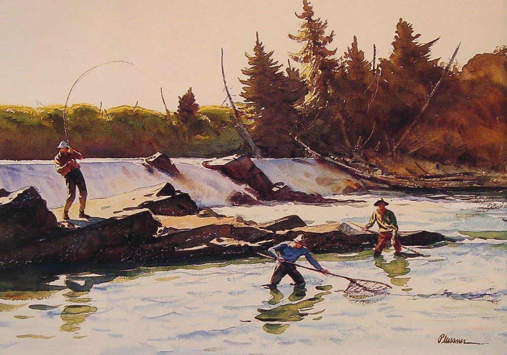 Œuvres d'art du peintre américain Ogden Pleissner