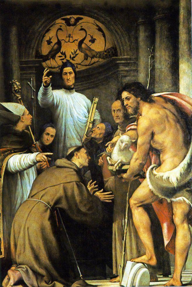 Le Pordenone (en Italien Il Pordenone), surnom de Giovanni Antonio de' Sacchis (Corticelli près de Pordenone, 1483 - 1539, Ferrare) est un peintre italien de l'école vénitienne. Vasari, son principal biographe, l'identifie comme étant Giovanni Antonio Licinio.