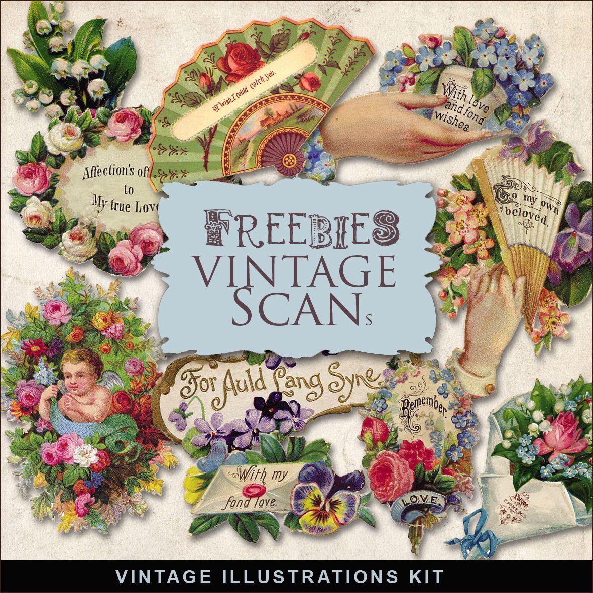 Cartes Postales et étiquettes romantiques vintage thème Saint Valentin-Amour-Love-Passion-Amitié
