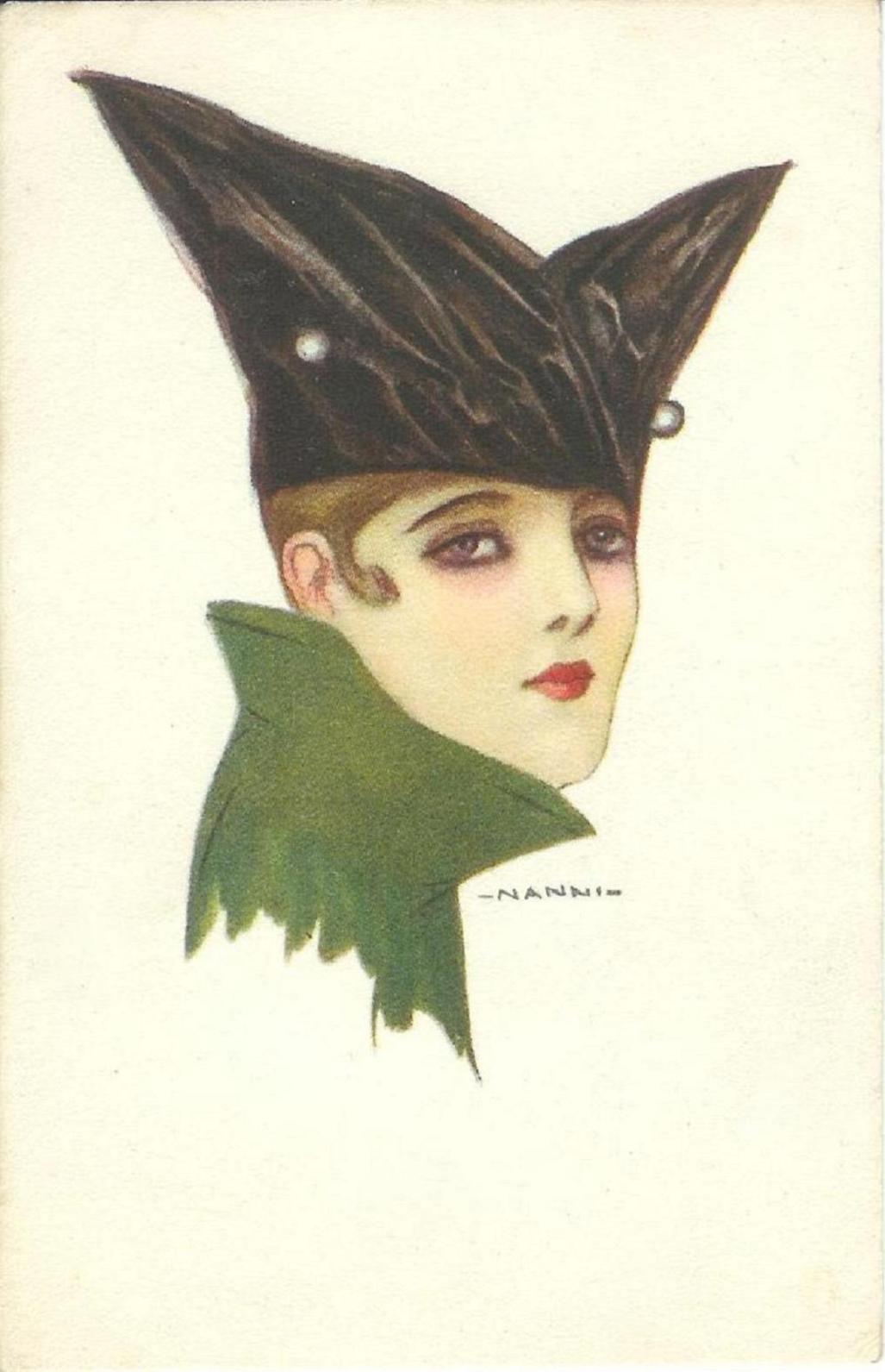 Giovanni Nanni, vintage, ladies, femmes élégantes,