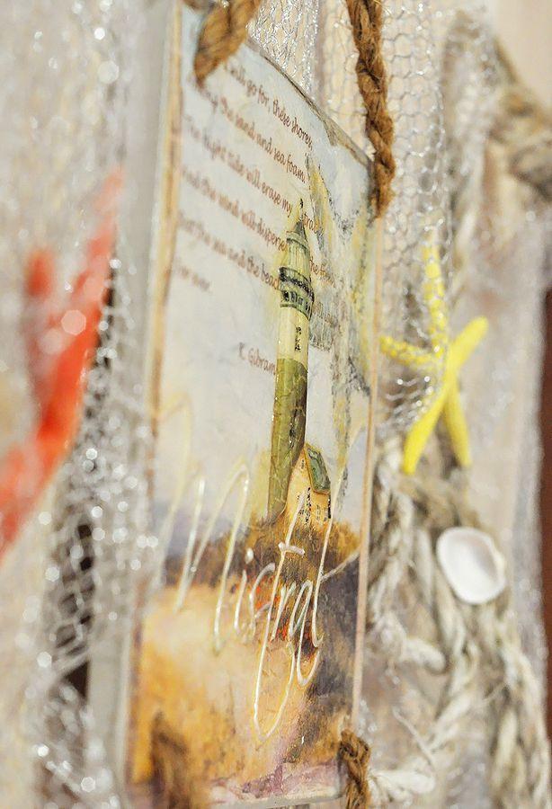Créations marines d'art et de scrapbooking en images