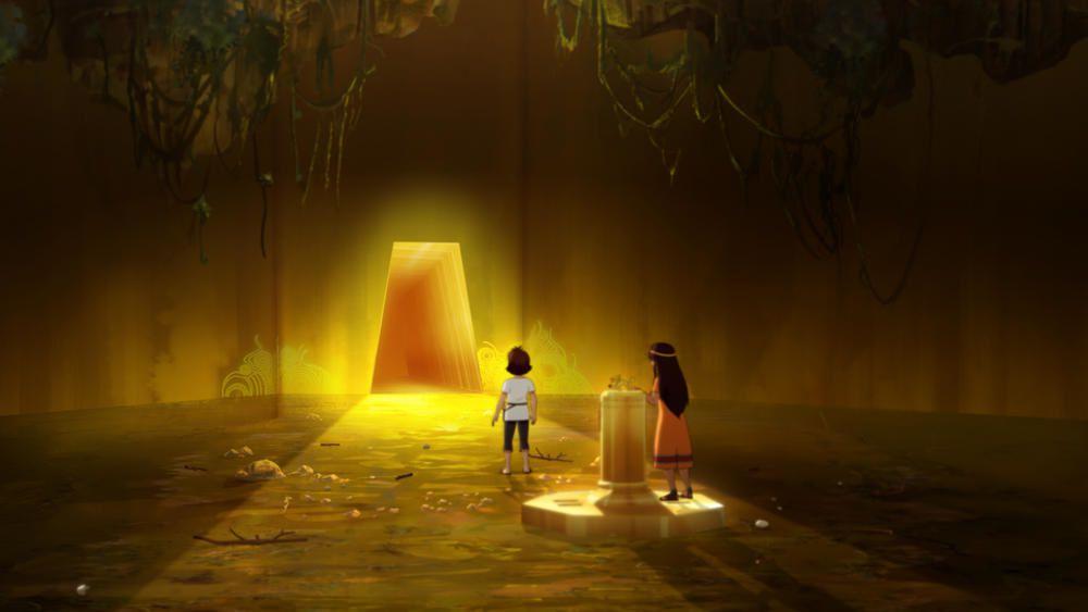 Récompense pour la série animée Les Mystérieuses Cités d'Or.